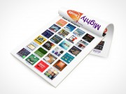 PSD Mockup Open Office Stationary Mighty Deals Pad