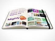 PSD Mockup notebook moleskine mighty deals