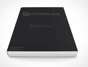PSD Mockup eBook Softcover Manual