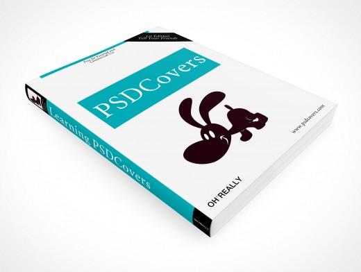 PSD Mockup O'Reilly Softcover Manual