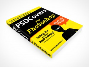 PSD Mockup Photoshop Softcover Manual