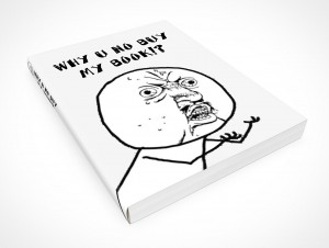 PSD Mockup Why U No Softcover Manual
