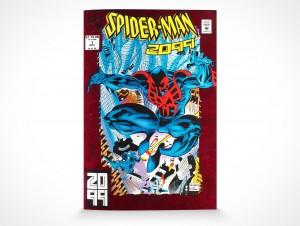PSD Mockup Comic Book Magazine