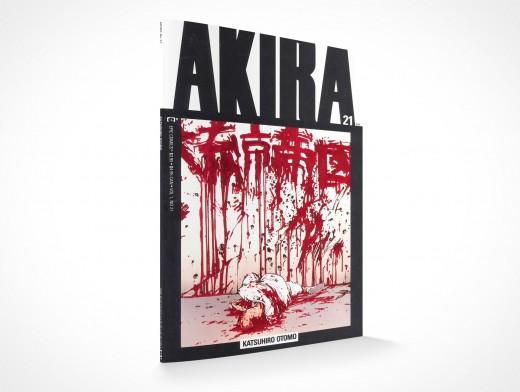 PSD Mockup Graphic Novel Akira