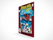 PSD Mockup Comic Book Magazine