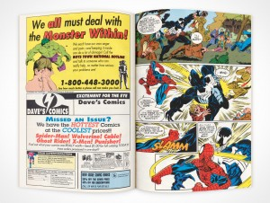 PSD Mockup Comic Book Centerfold Product Shot