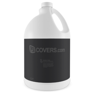 PSD Mockup Bleach Bottle face on view