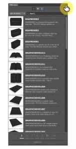 PSDCovers plugin panel options menu