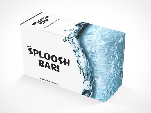 PSD Mockup Soap Box On Flat Surface