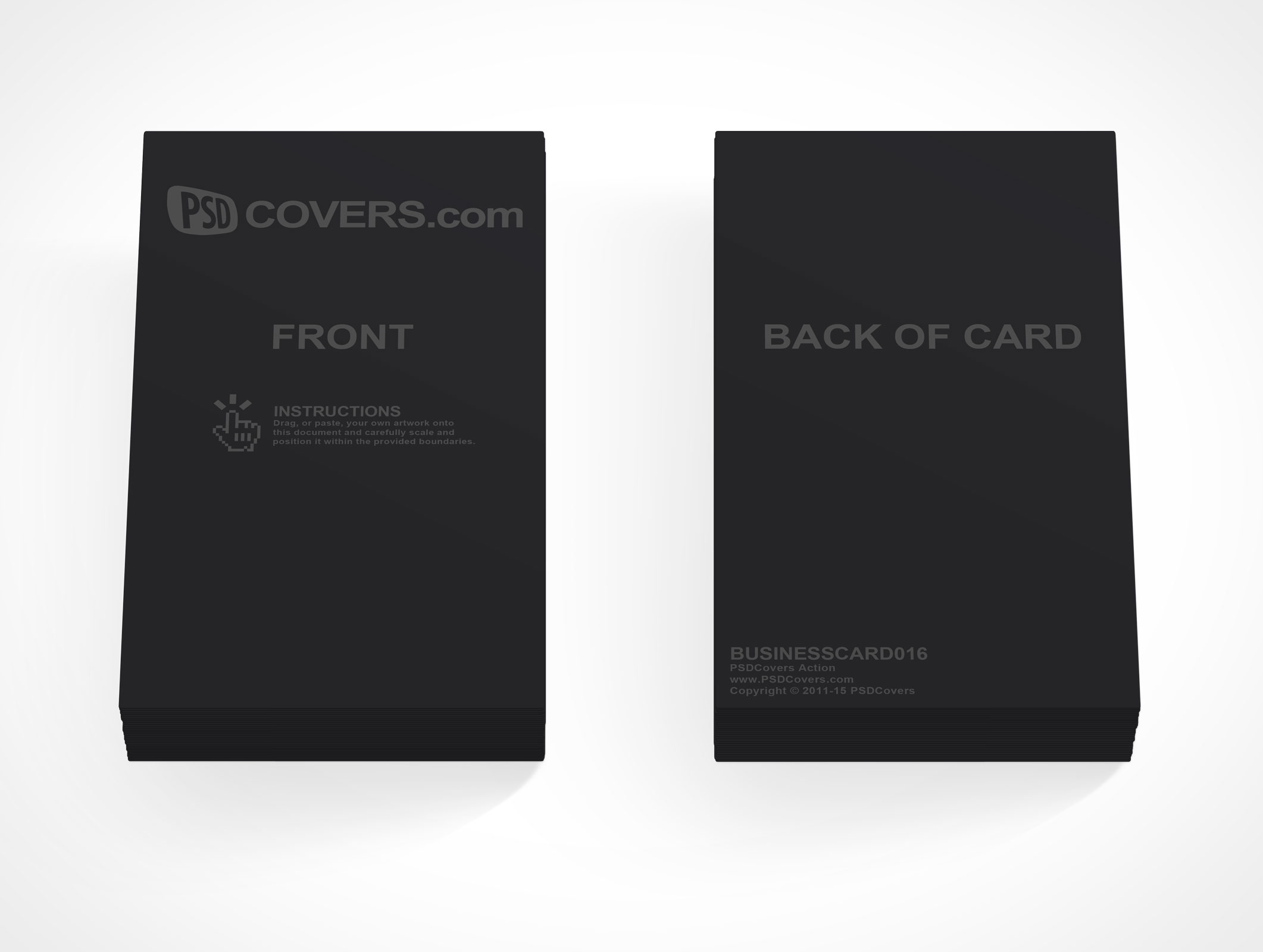 Business Card Archives • PSDCovers