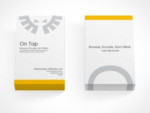 PSD Covers two sets of portrait mode business card stack mockups