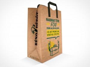 PSD Mockup Product Sample Hardware Shopping Paper Bag