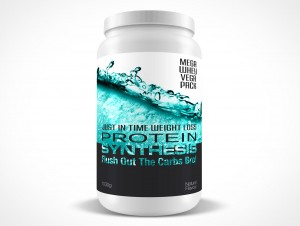 PSD Mockup Protein Synthesis Powder Food