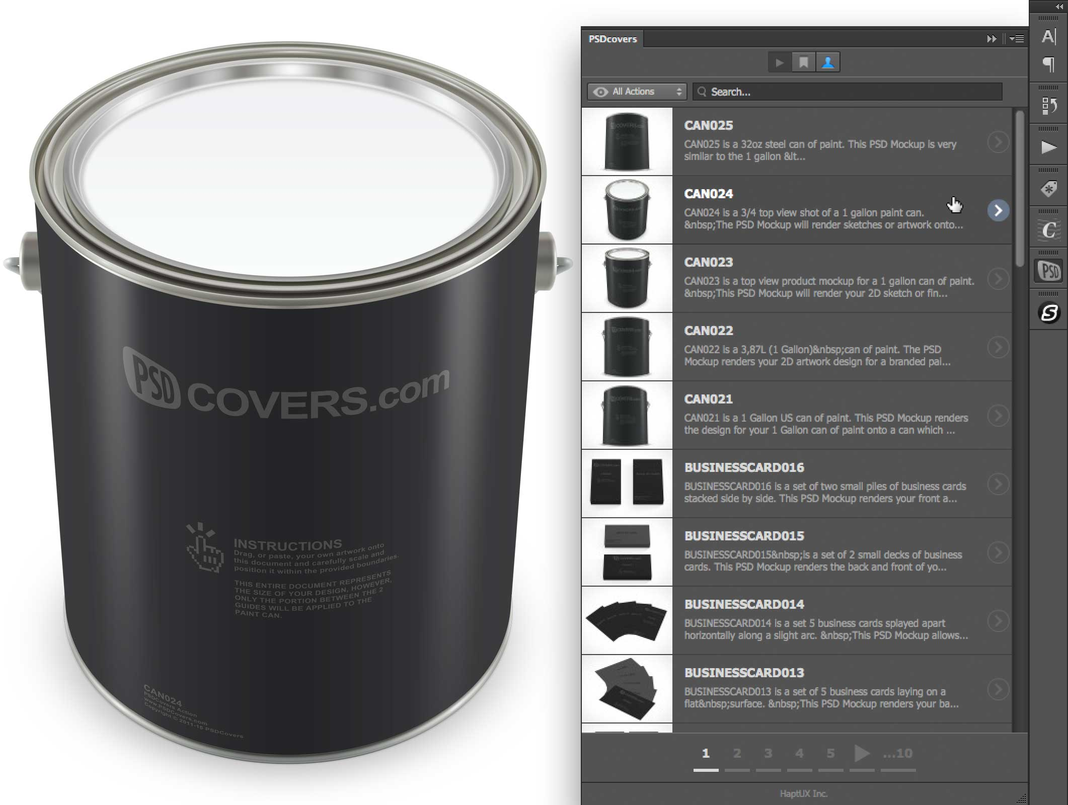 how to use psdcovers panel featured image
