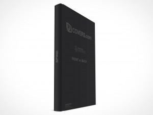 psdcovers standing hardbound book mockup