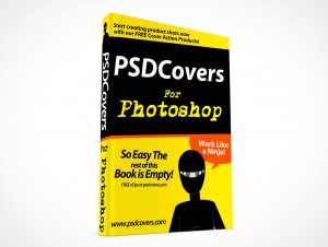 psdcovers hardbound book mockup for dummies