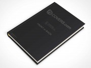 psdcovers laying down hardbound book mockup