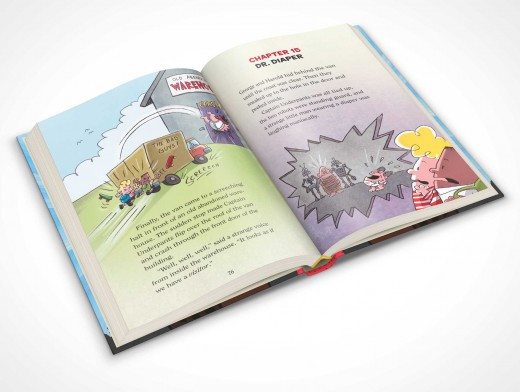 PSDcovers childrens hardbound book angled 30° top view