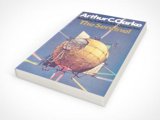 Paperback PSD Mockup Laying Flat