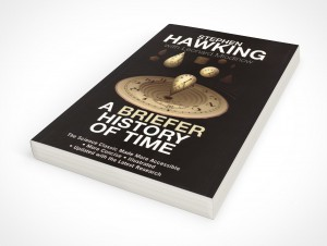 Paperback PSD Mockup Facing up from surface