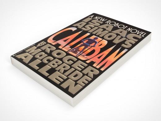 Paperback PSD Mockup 45° Angle Perspective