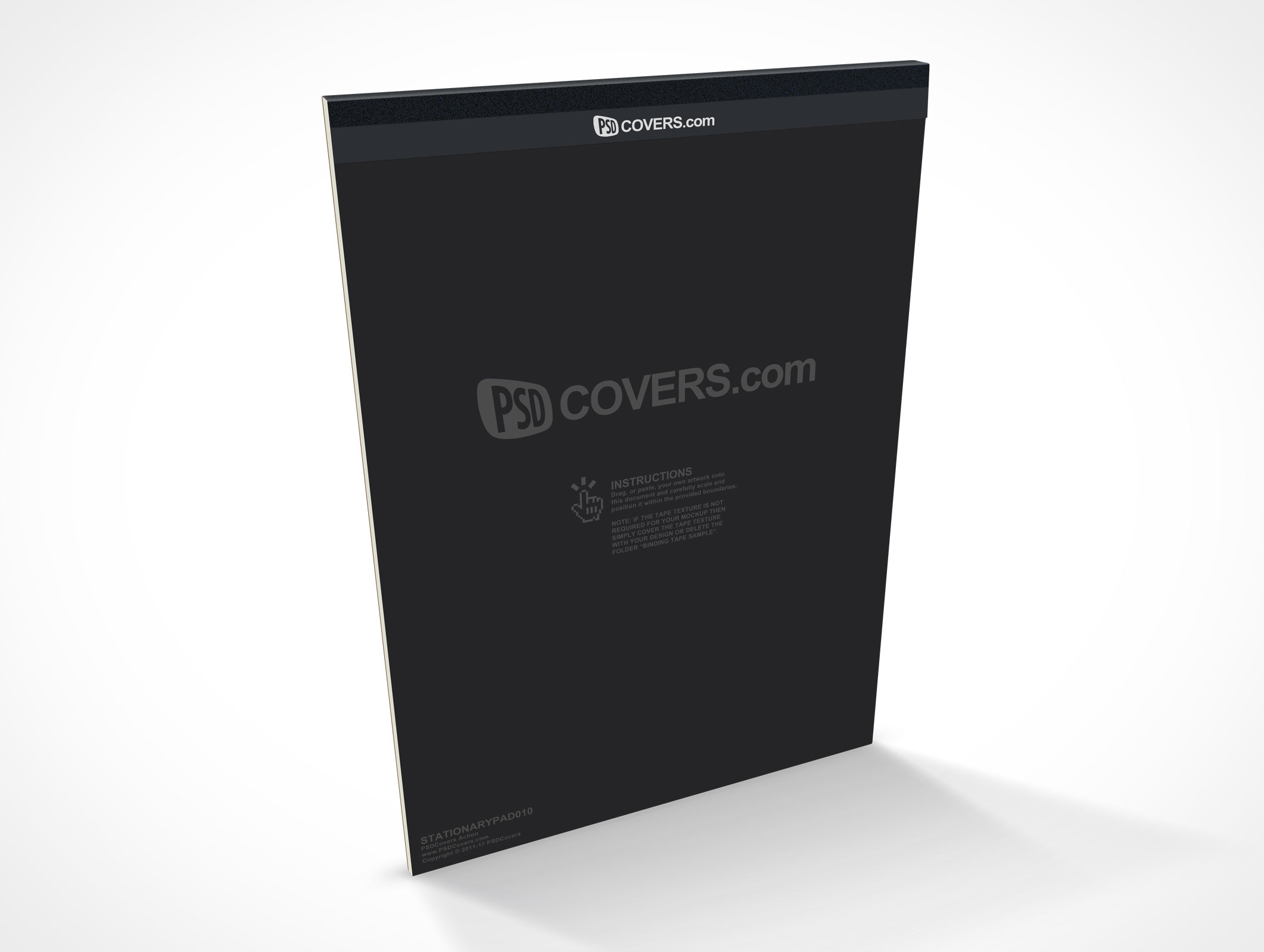 PSD Covers Standing Stationery Note Pad