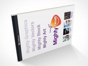 PSD Covers Landscape Mockup Stationery Notebook