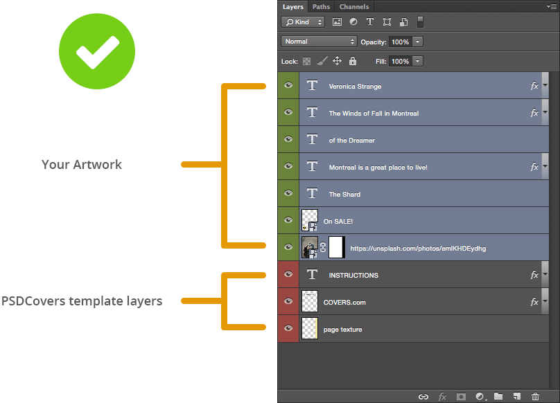 Correct artwork Layer placement