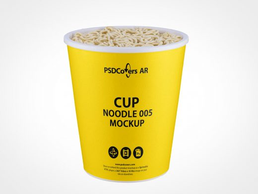 Noodle Cup Mockup