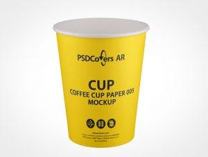 hot cup mockup