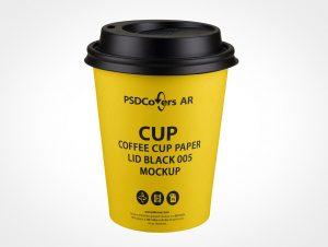 sip-through paper cup mockup