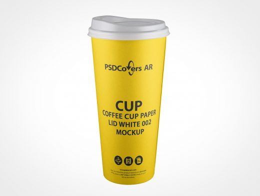Take-Out Coffee Cup Mockup