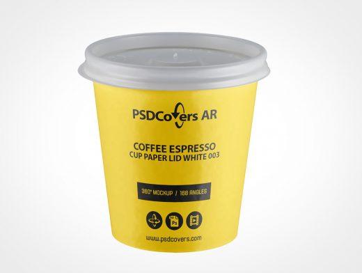 Small Coffee Cup Mockup