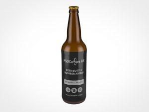 Tall Beer Bottle Mockup
