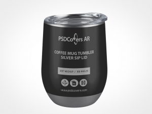Insulated Coffee Mug Mockup