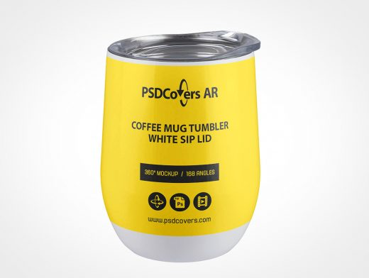 Thermos Coffee Mug Mockup