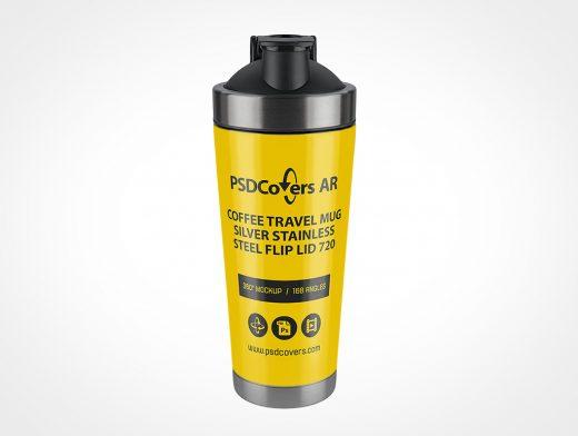 Thermos Travel Mug Mockup