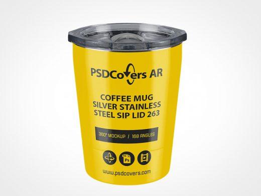 Coffee Travel Mug Mockup
