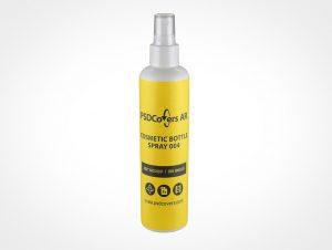 Atomizer Spray Bottle Mockup