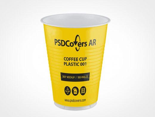 Plastic Coffee Cup Mockup