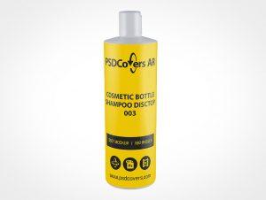 Shampoo Cosmetic Bottle Mockup