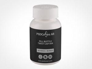 Prescription Pill Bottle Mockup