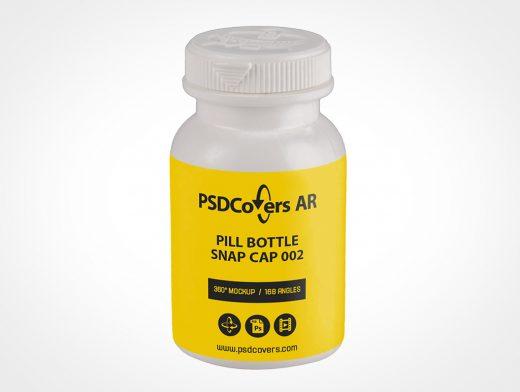Plastic Medicine Bottle Mockup