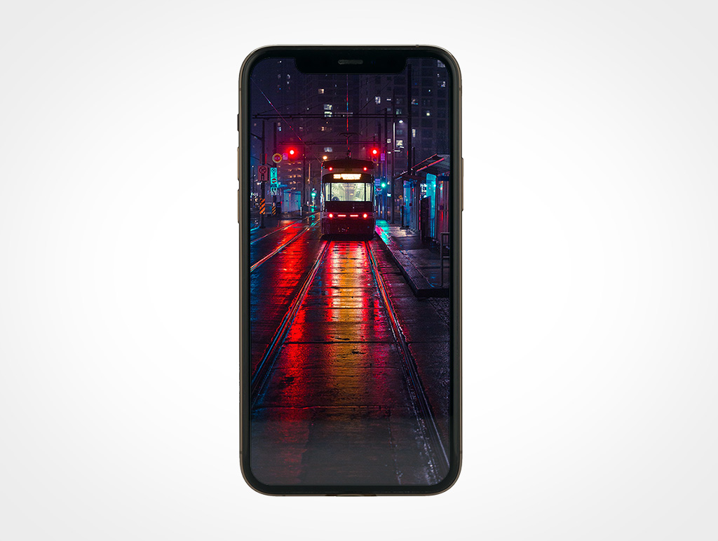 Gold iPhone 11 Pro Mockup
