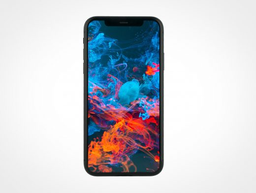 Black iPhone 11 Mockup