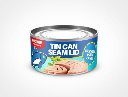 Mini Tin Can Mockup