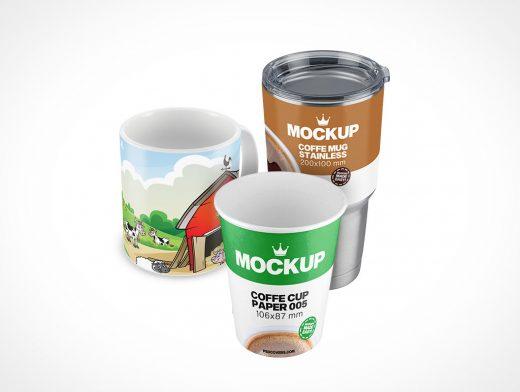 Cup and Mug Mockups Category
