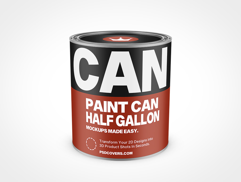 PAINT CAN HALF GALLON MOCKUP 137X150