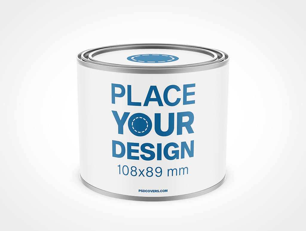 PAINT CAN ONE POUND MOCKUP 108X89