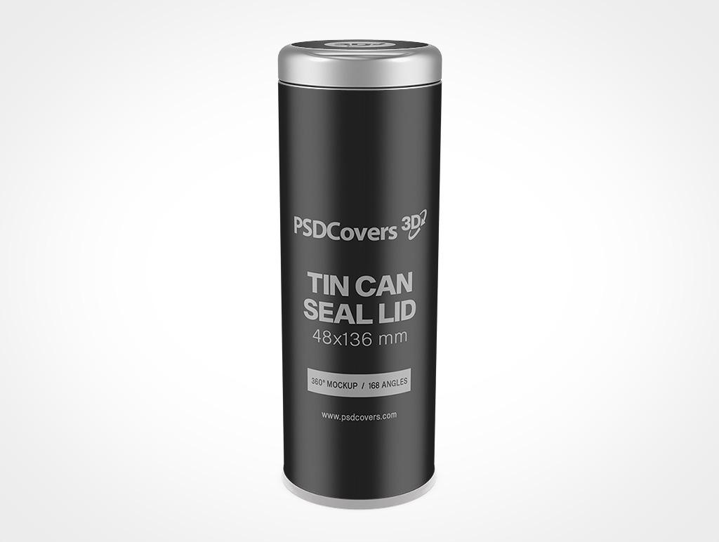TIN CAN SEAL LID MOCKUP 48X136
